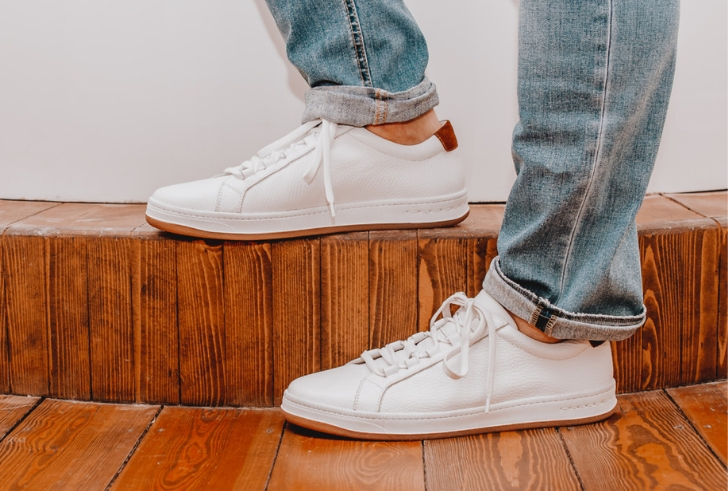 White Sneakers For The Win!